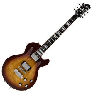 Hagstrom Northen Super Swede Flame Guitar, Vintage Sunburst