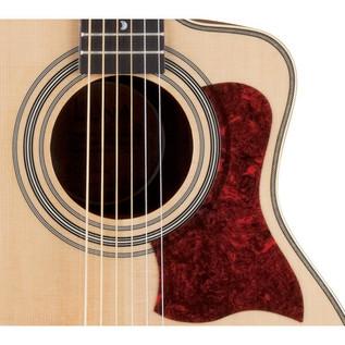 Luna Americana Parlor Cutaway Electro Acoustic Guitar, Natural