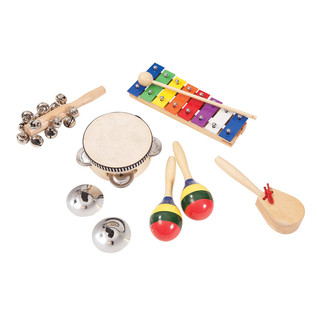 Performance Percussion Music Box Inc Tambourine, Maracas, Shakers.