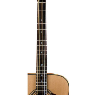 Luna Americana Classic Dreadnought Acoustic Guitar, Natural