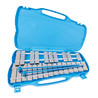 Performance Percussion G5-G7 25 Note Glockenspiel, Silver Keys
