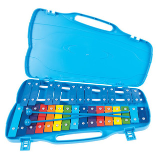 Performance Percussion G5-A7 27 Note Glockenspiel, Coloured Keys