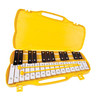 Performance Percussion G5-A7 27 Note Glockenspiel, Black/White Keys
