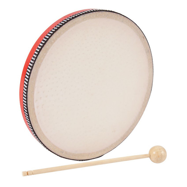 Performance Percussion Hand Drum, Red