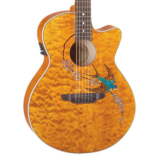 Luna Fauna Swift Electro Acoustic Guitar