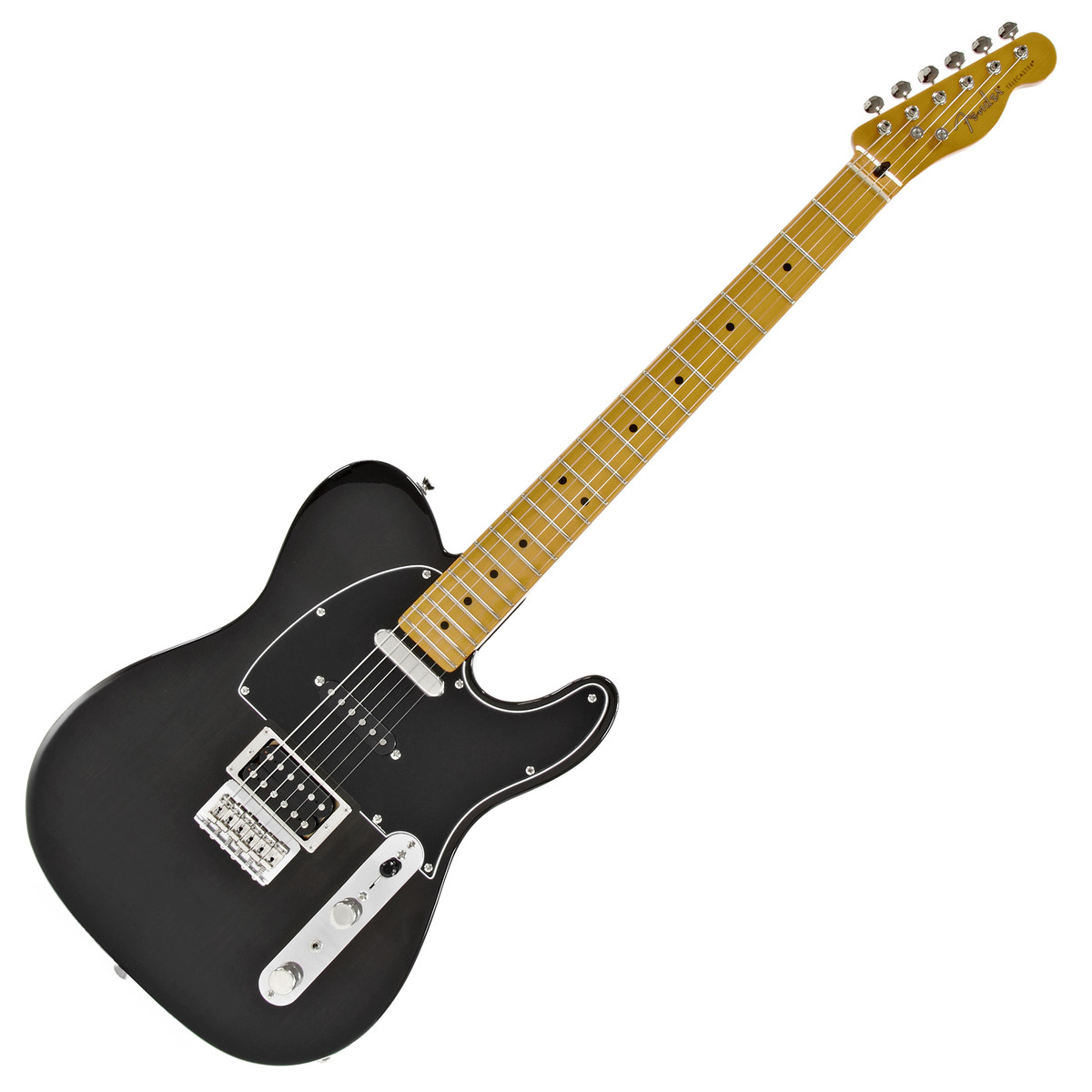Fender Modern Player Telecaster Plus Charcoal Transparent At Gear4music 4 Way Wiring Loading Zoom