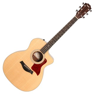 Taylor 214ce Deluxe Grand Auditorium Electro Acoustic Guitar, Natural
