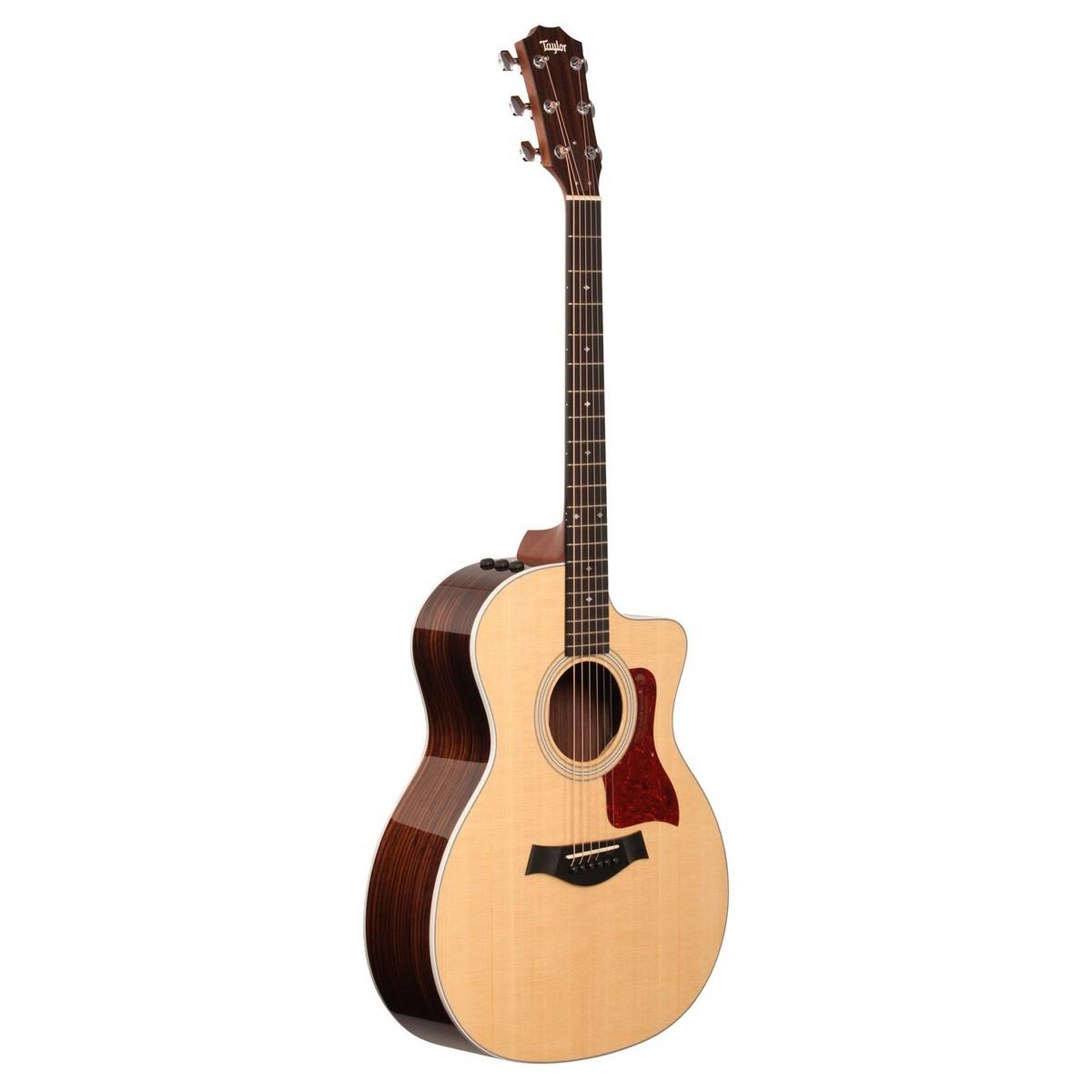 disc taylor 214ce dlx grand auditorium electro acoustic guitar 2015 at gear4music. Black Bedroom Furniture Sets. Home Design Ideas
