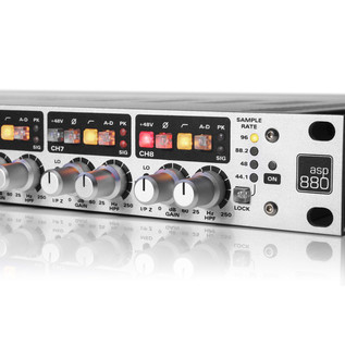 Audient ASP880 8-Channel Class A Microphone Preamplifier And ADC