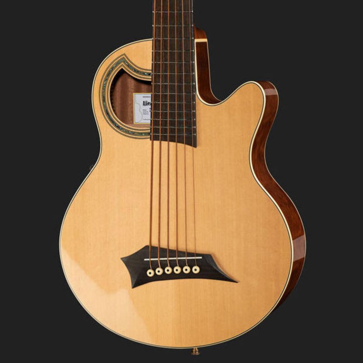 Warwick Alien Standard 6 String Acoustic Bass Natural 3 Loading Zoom