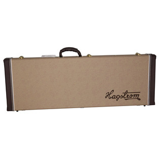 Hagstrom Hag Case C-50L For F-Series and XL Guitars, Left Hand Model