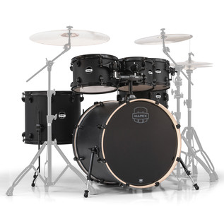 Mapex Mars 22'' Special Edition Rock 6 Piece Shell Pack, Nightwood