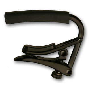 Shubb C4K Capo Noir Radically Curved Capo, Black Chrome