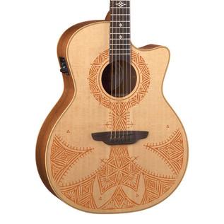 Luna Henna Sahara Electro Acoustic Guitar