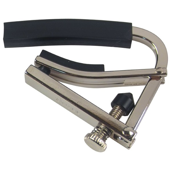 Shubb L4 Radically Curved Capo, Silver