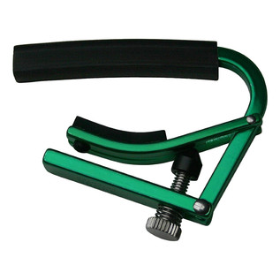 Shubb L3 12-String Guitar Capo, Green