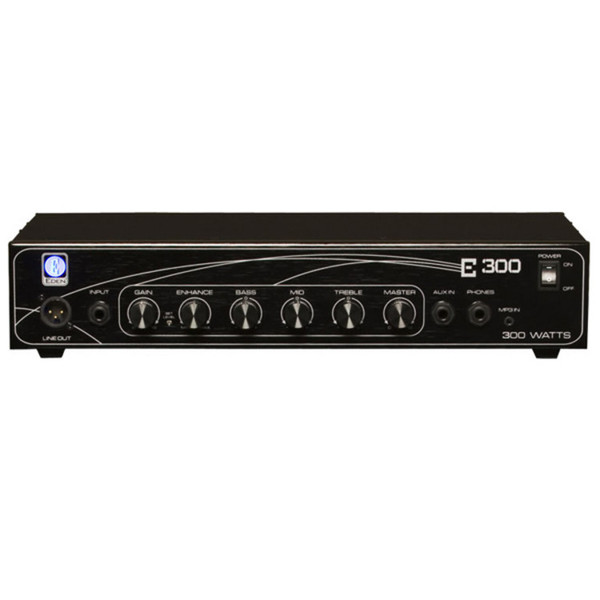 Eden E300 E-Series Bass Amplifier Head, 300w