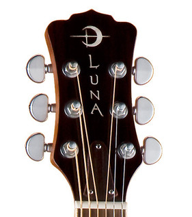 Luna Oracle Dolphin Folk Electro Acoustic Guitar