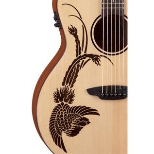 Luna Oracle Phoenix Folk Electro Acoustic Guitar