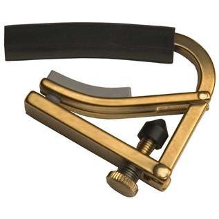 Shubb C4B Radically Curved Capo, Brass