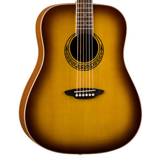 Luna Muse Burst Dreadnought Acoustic Guitar