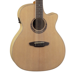 Luna Muse 12 String Grand Auditorium Electro Acoustic Guitar