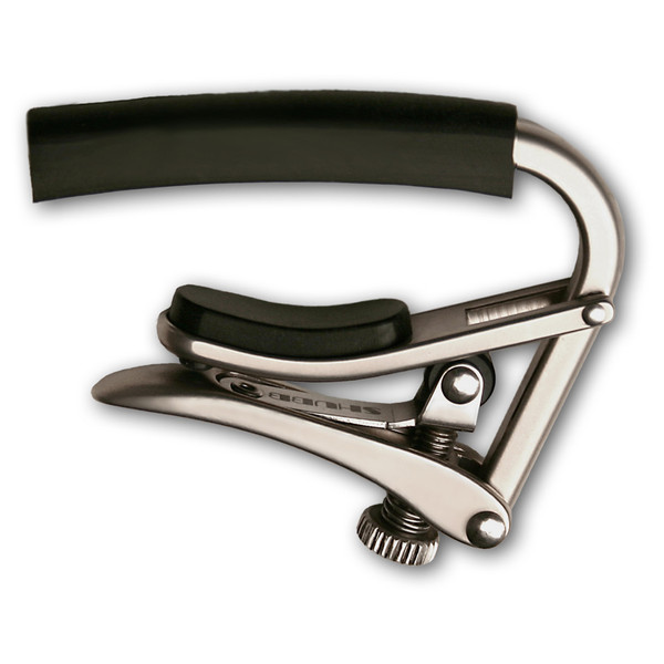 Shubb C4BN Radically Curved Capo, Brushed Nickel