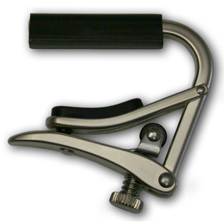 Shubb C5BN Banjo Capo, Brushed Nickel