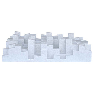 Vicoustic Multifuser DC2 Acoustic Panel White, Box of 6