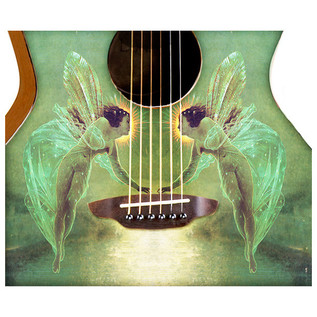 Luna Gypsy Spirit of the Night Acoustic Guitar