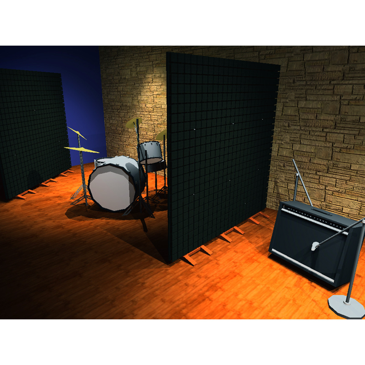 Vicoustic Flexi Wall Acoustic Panel Box Of 3 At Gear4music