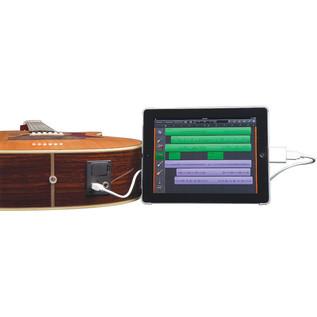 Luna Heartsong Nylon Folk Electro Acoustic Guitar with USB