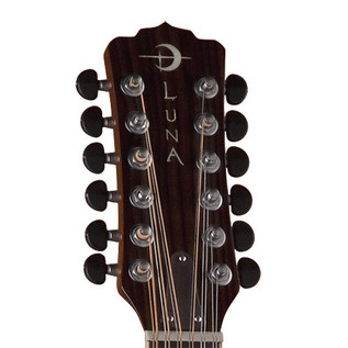 Luna Trinity 12 String Grand Concert Electro Acoustic Guitar