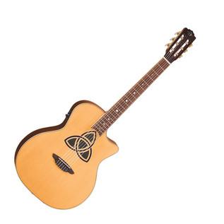 Luna Trinity Nylon Grand Concert Electro Acoustic Guitar
