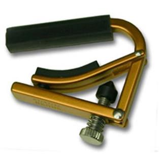 Shubb L1 Steel String Guitar Capo, Gold