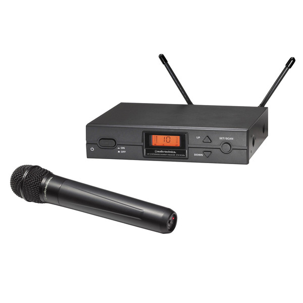 Audio Technica ATW-2120b Handheld Wireless Microphone System, U Band