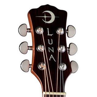 Luna Woodland Bubinga Grand Concert Electro Acoustic Guitar
