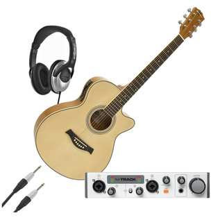 Complete Acoustic Guitar Recording Pack - Gear4music Exclusive!