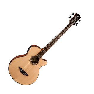 Luna Tribal Electro Acoustic Bass Guitar
