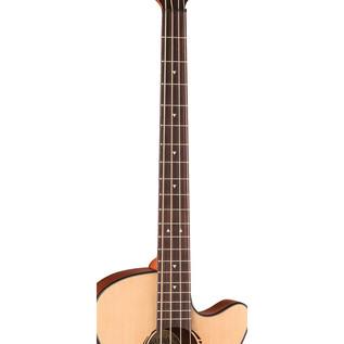 Luna Tribal Electro Acoustic Bass Guitar