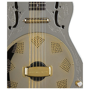 Luna Steel Magnolia Resonator