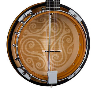 Luna Celtic Banjo, 6 String