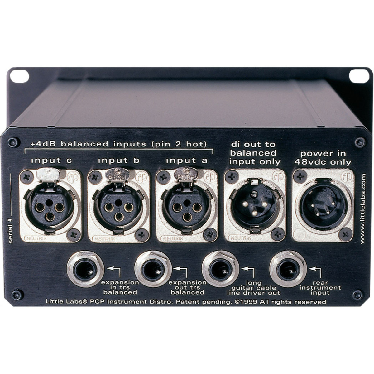 Disc Little Labs Pcp Instrument Distro 30 At Gear4music Stereo Line Driver 2 Loading Zoom