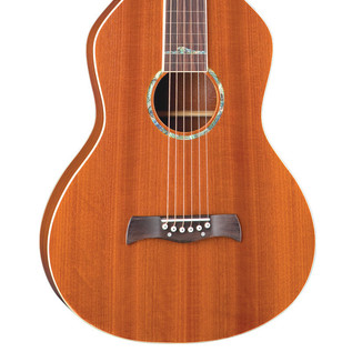 Luna Weissenborn Style Acoustic Lap Steel Guitar, Mahogany