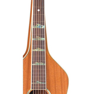 Luna Weissenborn Style Acoustic Lap Steel Guitar, Solid Mahogany