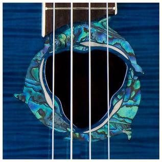 Luna Dolphin Electro Acoustic Concert Ukulele