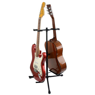 Frameworks GFW-GTR-2000 Double Guitar Stand, (Guitars Not Included)