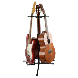 Frameworks GFW 3000 Triple Guitar Stand, (Guitars Not Included)