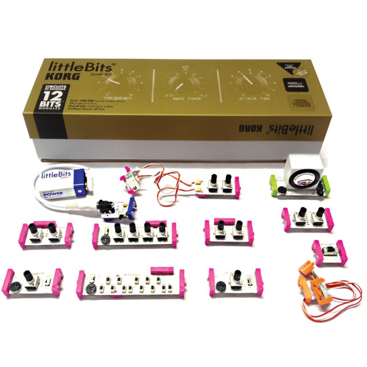 korg littlebits analog synth kit at gear4music. Black Bedroom Furniture Sets. Home Design Ideas