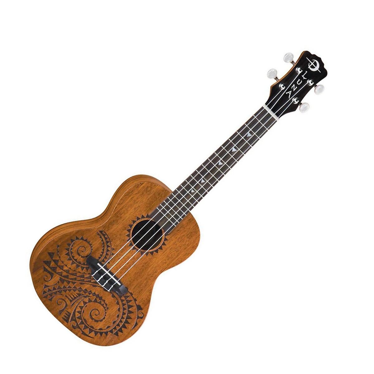 Luna tattoo concert ukulele housse for Housse ukulele concert